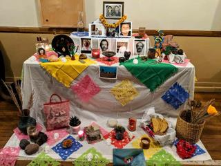 Community Altar at YourSpace