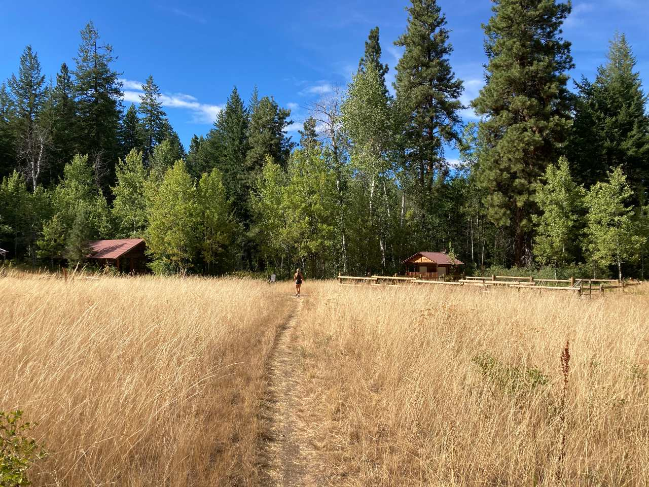 Pastoral scene in the Methow Valley.