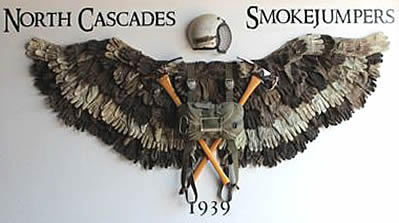 North Cascade Smokejumper Wings