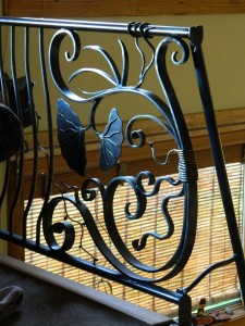 Methow Metalworks - Ornate railing