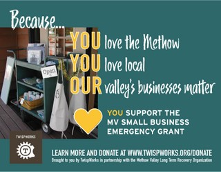 Small Business Emergency Grant Donate Image