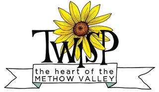 Twisp Chamber Logo - Heart of the Methow